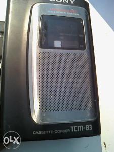 diktafon - sony - tcm-83