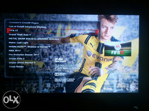 PS3 Playstation 3 160GB čipovan FIFA 17 PES 17 NBA 17