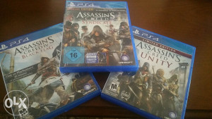 Ps4 igre assassins creed syndicate