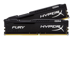 RAM DDR4 16GB 2400MHz (2x8) HiperX Fury KIN (4166)