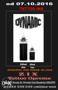 dinamic black tattoo ink