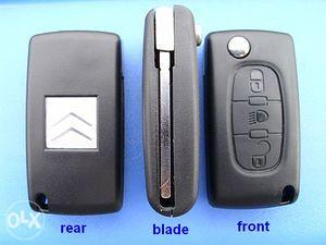 Skakavac ključ Citroen C4, C4 Picasso, C5, C6 sa znakom