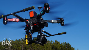 OCTACOPTER DRON