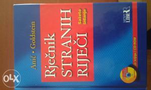 Knjiga-Rjecnik stranih rijeci sa CD-om