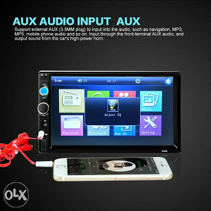 Auto DVD radio mp5 player touch screen 7
