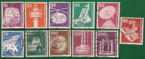 NJEMAČKA - Poštanske marke - 2051