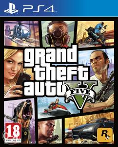GTA 5 PS4 PlayStation 4 + Poklon Igra