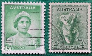 Australija 1938 - Poštanske marke - 2138