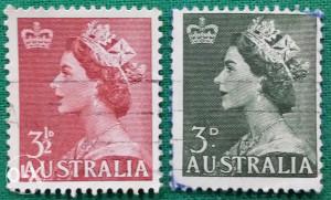 Australija 1953 - Poštanske marke - 2139
