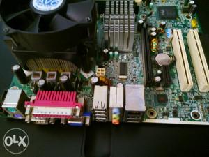 Maticna ploca+procesor+memorija