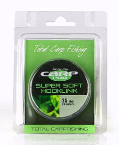 Carp Pro CP HOOK LINK BROWN 20M 25LB