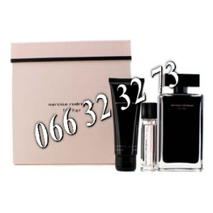 Narciso Rodriguez For Her 100ml EDT + 10ml EDT + 75ml BL Ž 100 ml
