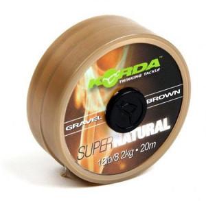Korda SUPER NATURAL 25lb 20m - Gravel Brown - KSNB25