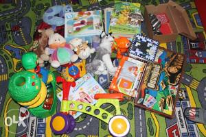 Djecije igracke: paket od preko 20 igracaka/igara