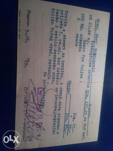 Filatelija dopisnica 1928-godina