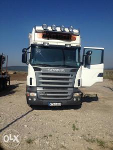 Kamion SCANIA 2007god.sa prikolicom info:061771029