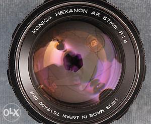 konica hexsanon ar 57mm f1:4