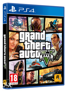 PS4 GTA V Grand Theft Auto V