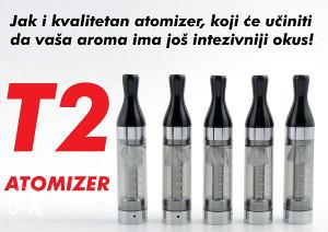 Električna cigareta - Atomizer T2
