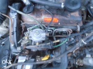 Motor turbo dizel u dijelovima