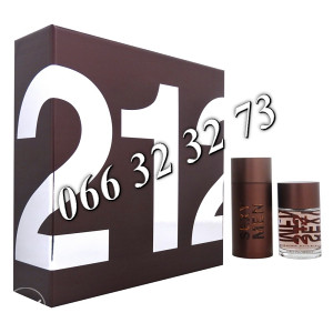 Carolina Herrera 212 Sexy Men 100ml + 100ml AS M 100 ml