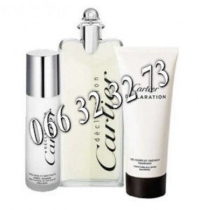 Cartier Declaration 100ml + 12,5ml Cologne + 50ml SG M 100 ml