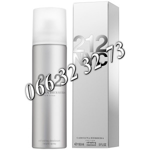 Carolina Herrera 212 150ml Deodorant ... Ž 150 ml