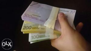 Novcanice eure euro za svatove i šalu 1 kom 1km