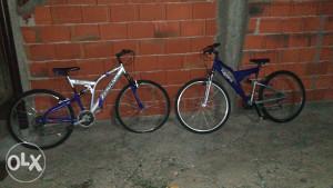 prodajem dva muska bicikla