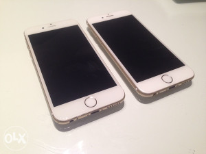 Iphone 6 gold 650/720km