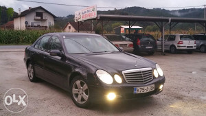 Mercedes E 220 100kw 2006g samo registrov.cj 15.800km