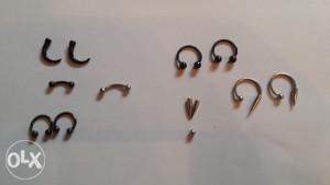 Pirsing nakit (11 djelova koji se mogu kombinovat)