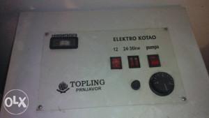 Električna peć za centralno grijanje