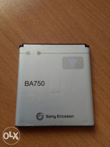 BATERIJA SONY ERICSSON BA750 ORGINAL (062-281-185)