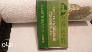 Kaseta za čišćenje tonske glave