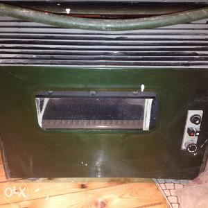električno-plinski stednjak/grijalica