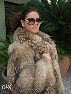 Zenska krznena bunda krzno jakna