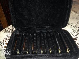 Komplet Usnih harmonika, 7kom. u svom koferu