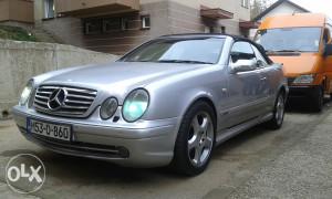 Mercedes clk 320 amg sekvent plin