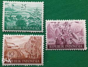 INDONESIA 1960 - Poštanske marke - 2144 - čiste