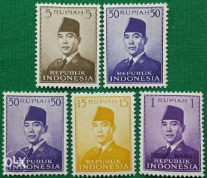 Indonesija 1951 - Poštanske marke - 2151 - čiste