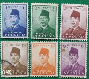 Indonesija 1951 - Poštanske marke - 2152