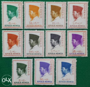 INDONESIA 1965 - Poštanske marke - 2154 - čiste