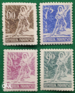Indonesija 1953 - Poštanske marke - 2156 - čiste
