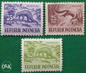 Indonesija 1956 - Poštanske marke - 2157 - čiste