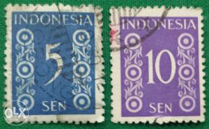 Indonesija 1949 - Poštanske marke - 2161