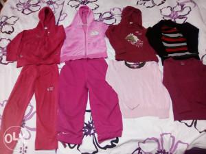 Odjeća za djevojčice,uzrast 3-4 god,104\110,sve za 16KM