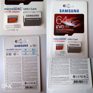 Samsung EVO + Memorijska kartica 64GB Micro SD HC 64 GB
