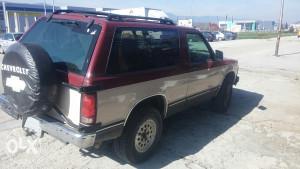 motor, mjenjač, plinska instalacija, Chevrolet Blazer