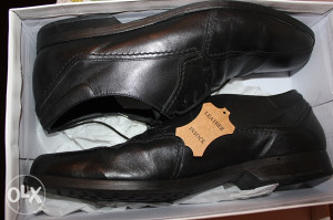 Crne kožne cipele Peter Kozina